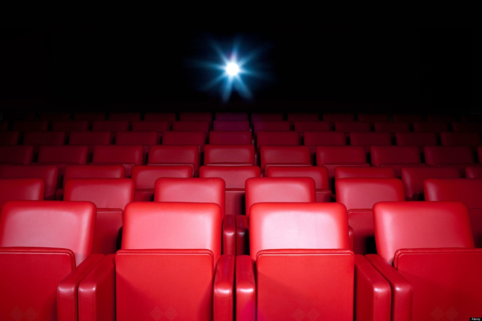 BR9KJP Empty movie theater